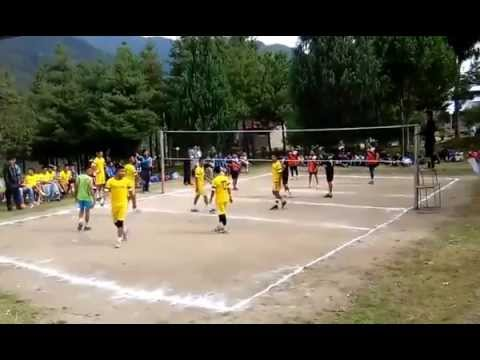 Pelkhil School (in yellow) vs Utpal Academy