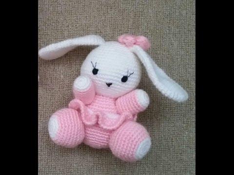 Amigurumi Saclari Yapimi : (Amigurumi ) orgu Oyuncak Sevimli Tavsan Yapimi 1 (Crochet ...