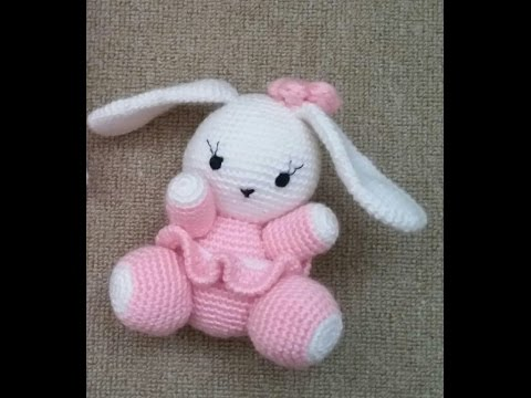 Amigurumi Balon Yapimi : (Amigurumi ) orgu Oyuncak Sevimli Tavsan Yapimi 1 (Crochet ...