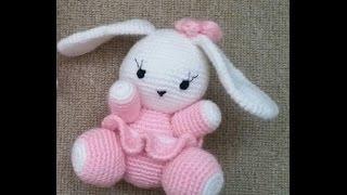 (Amigurumi ) Örgü Oyuncak Sevimli Tavşan Yapımı 1 (Crochet Amigurumi Cute Rabbit 1)