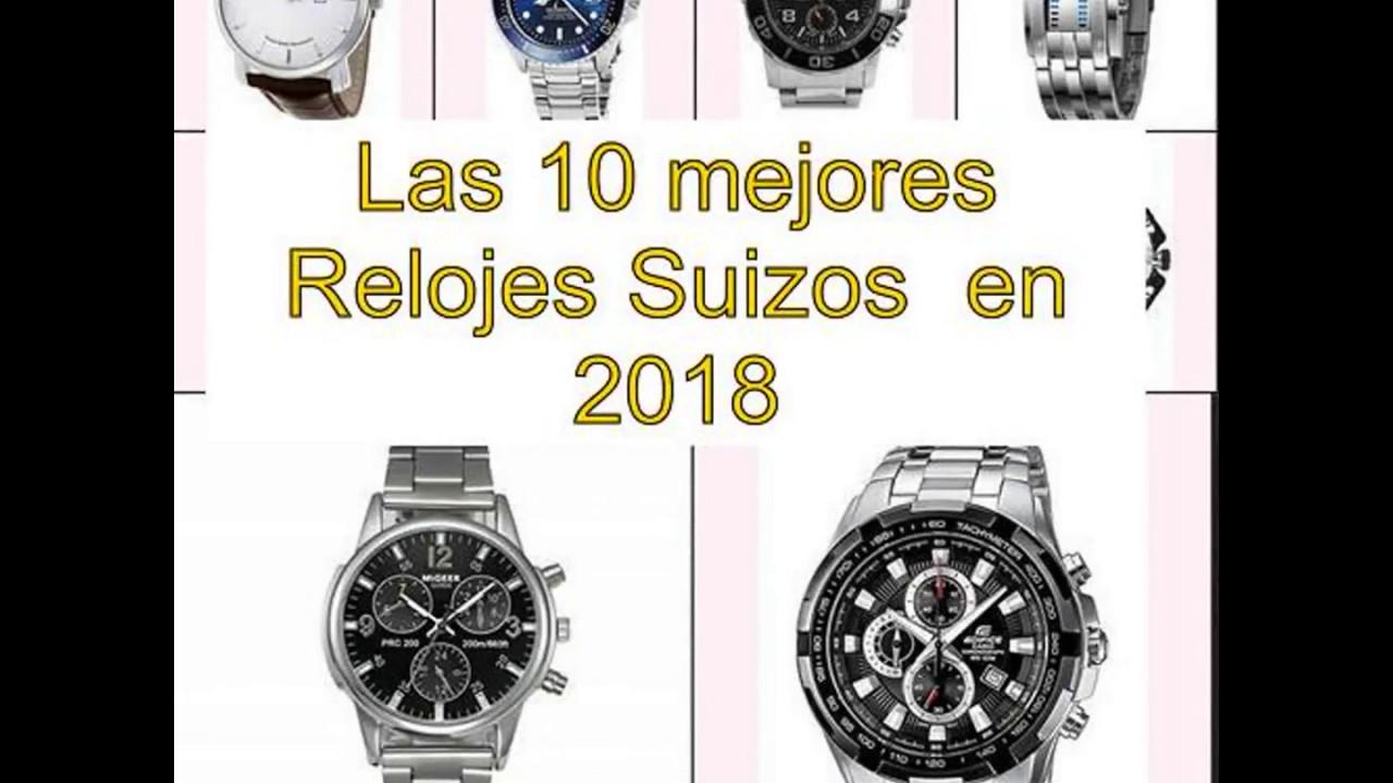 9ba6f1610c49 Las 10 mejores Relojes Suizos en 2018 - YouTube