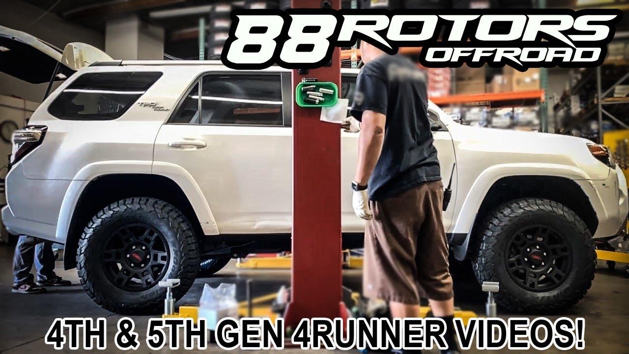 4th & 5th Gen Toyota 4Runner on 33