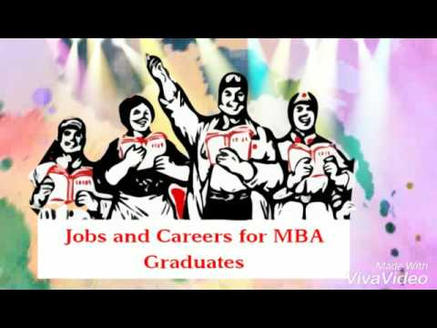 Jobs and Careers for MBA Graduates