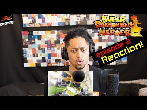 Golden Cooler vs Cumber! Super Dragon Ball Heroes Episode 2 Reaction!