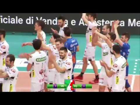Gli highlights di Calzedonia Verona – Kioene Padova
