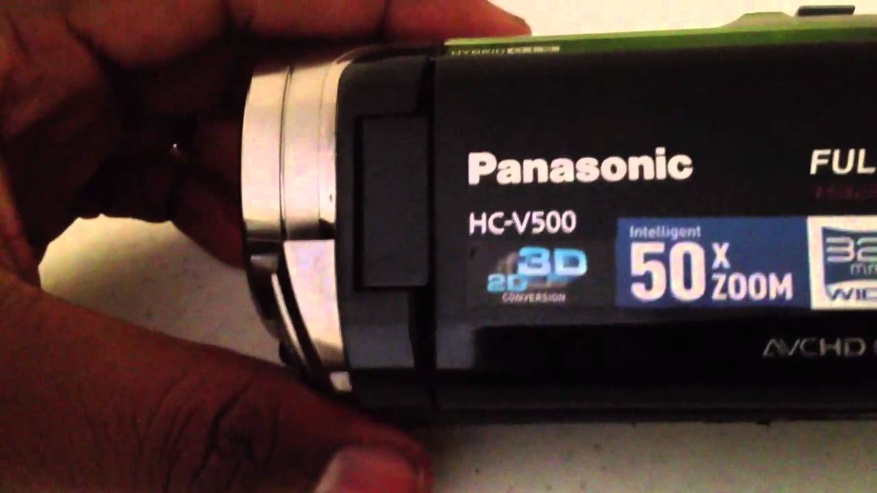 Panasonic hc-v500 review | trusted reviews.