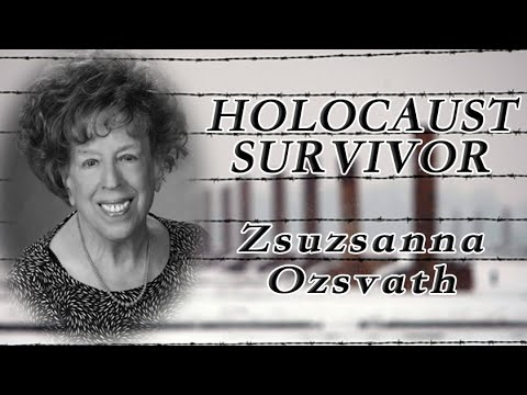 Holocaust Survivor - Zsuzsanna Ozsvath (10.8.2015)