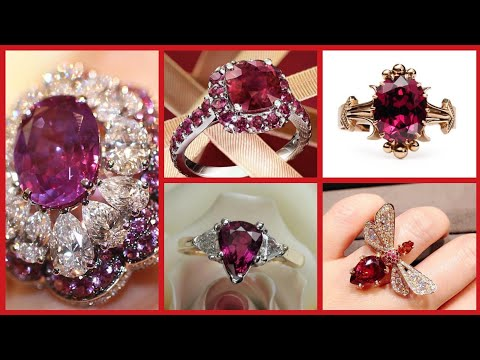 Beautiful Rubi Rings Design Awesome Collection