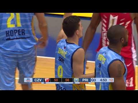 ABA Super Cup 2019 highlights, Quarter-Finals: Crvena zvezda mts - Koper Primorska (26.9.2019)