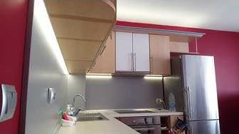 Монтаж на LED Осветление в Кухня