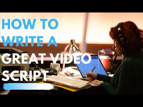 Speech Writing Tips - How to Write a Script for a Video or Business Presentation