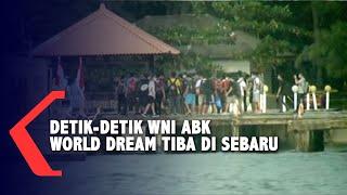 [FULL] Detik-detik 188 WNI Tiba di Pulau Sebaru, Disertai Pengawalan Ketat