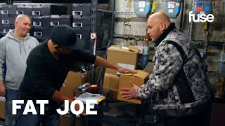 Smoothini Shows Fat Joe The Cardboard Box Trick | Hip-Hop Houdini