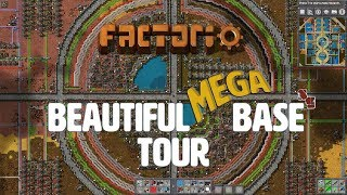 FACTORIO | Beautiful Mega Base Tour