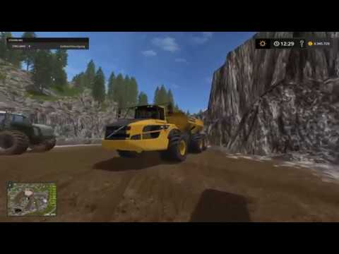 Ls17 Singleplayer Mining and construction Nr.1 der neue job in der Mine