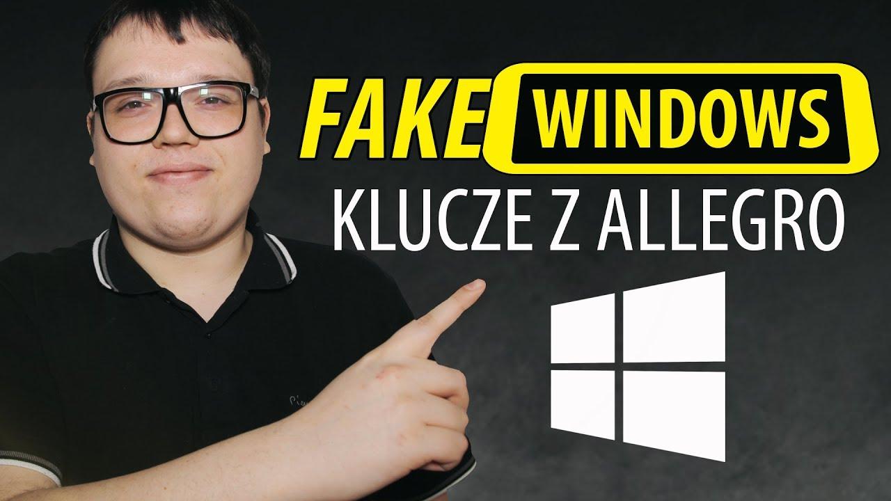 Tanie Klucze Windows 10 Dlaczego Robia Was W Ch Youtube