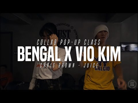 Bengal X Vio Kim Collabo Class | Chris Brown - Juice | Justjerk Dance Academy