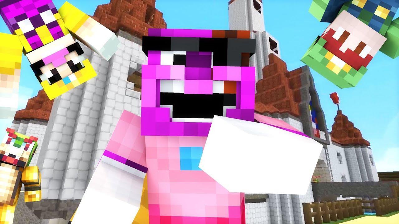 Minecraft Mario Hide N Seek I Am A Princess Youtube
