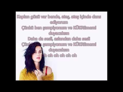 Katy Perry-Roar (Türkçe Çeviri)