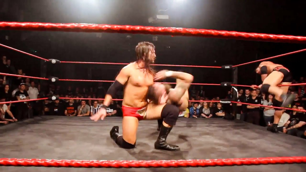 Adam Cole & Roderick Strong double-team Aleister Black: The Best of NXT In PROGRESS, Vol. 1