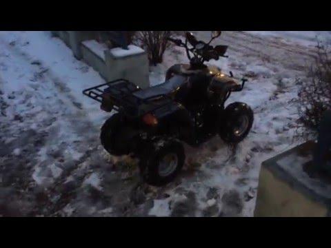 Обзор квадроцикла на бензине MOTAX ATV A-23 125 сс