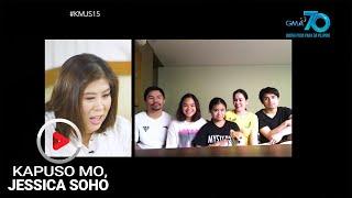 Kapuso Mo, Jessica Soho: Team Pacquiao at mga lola, kumasa sa TikTok Challenge!