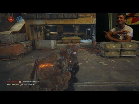 Ess MooMooMiLK vs GsQ Zeus - Fun Match on Gears of War 4