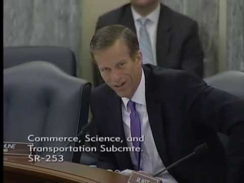 Thune at Commerce on Rural Communications