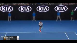 Highlights Nadal clever points 2017