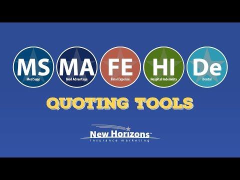 New Horizons Senior Insurance Quote Engine