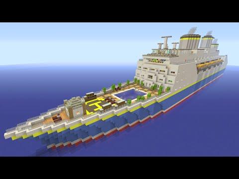 Minecraft XBOX Murder Mystery - Cruise Ship