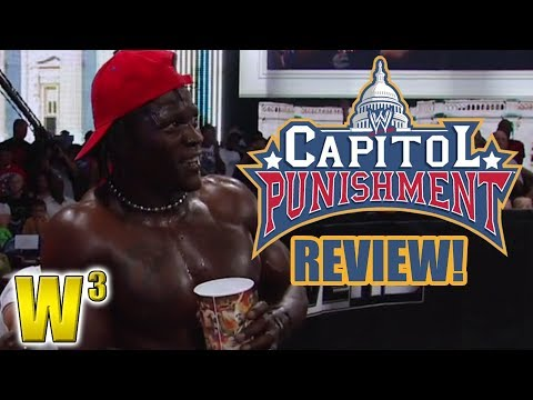 WWE Capitol Punishment Review | Wrestling With Wregret