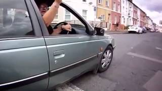 Road Rage: Fat Guy Face Plants