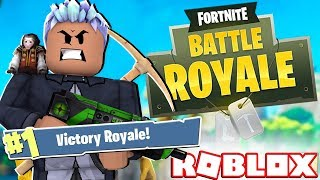 FIRST VICTORY in FORTNITE of ROBLOX! INE ›
