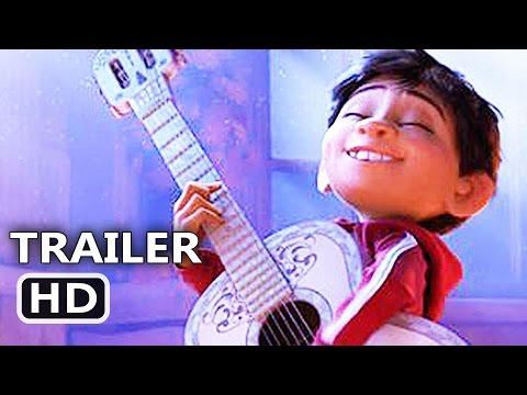 COCO Official Trailer (2017) Disney Pixar Animation Movie HD