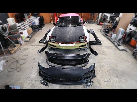 Unboxing the New RX7 Bodykit s