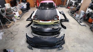 Unboxing the New RX7 Bodykit(s)