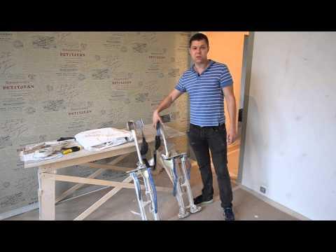 видео: монтаж натяжных потолков - это просто
