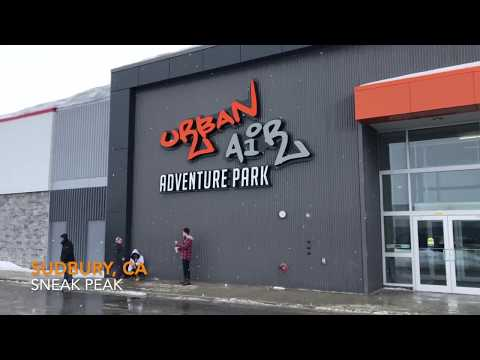 Urban Air Trampoline Park Adventure Park Sudbury, Ontario Now Open!