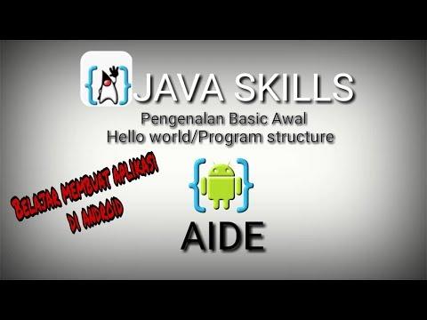 Belajar Membuat Aplikasi Java Sendiri
