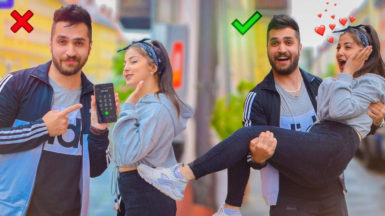 كيف تاخد رقم بنت بالشارع || عمر حمو - راما عبد النور