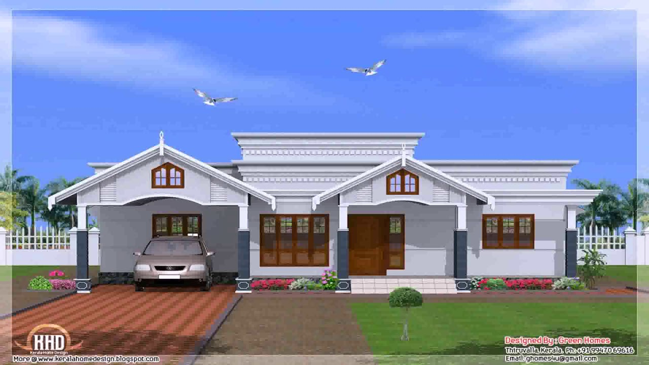 4 bedroom house plans single story youtube