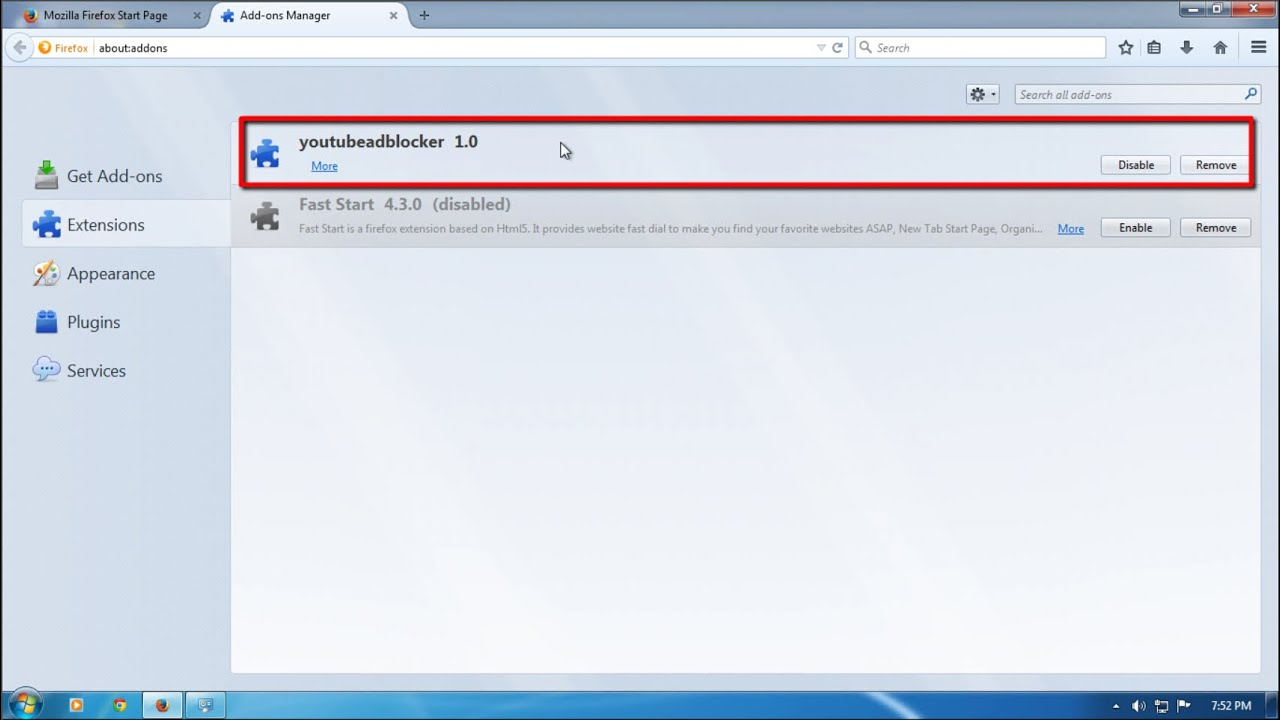 How to remove youtubeadblocker (Uninstall guide) - YouTube