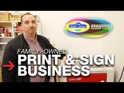 Family Owned Print Business | Family Run Sign Shop | Speedy 100