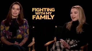 Lena Headey & Florence Pugh Interview - Fighting With My Family
