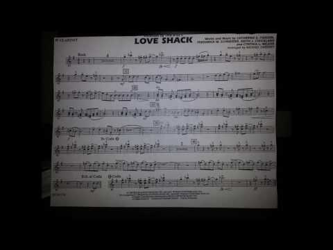 Love Shack (Arranged by Michael Sweeney)