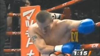 Badr Hari best knockouts (music-2pac&ice cube-bow down)