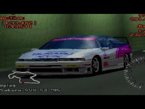 Gran Turismo 2 - Subaru SVX REVIEW