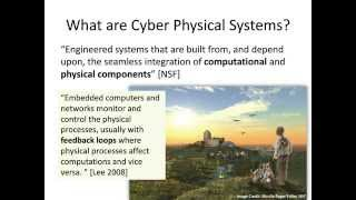 """Engineering Smart Cyber Physical Systems,"" Danny Weyns, SIGSOFT"