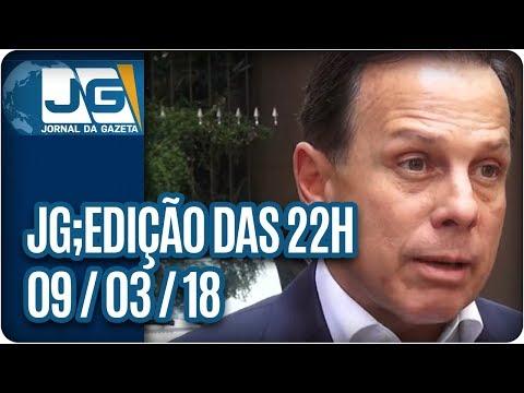 Jornal da Gazeta - Edição das 10 - 09/03/2018